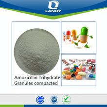 Hot sale reliable Amoxicillin Trihydrate Guanules Compacted Amoxicillin Trihydrate Powder