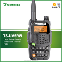 TS-5RW Mini Long range waterproof 8w 2 way radio with big battery capacity 2800mah
