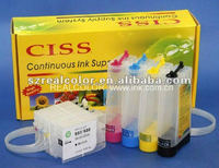 H932/933 Continous ink ciss for HP officejet 6100 7110 7612 7510 Printers
