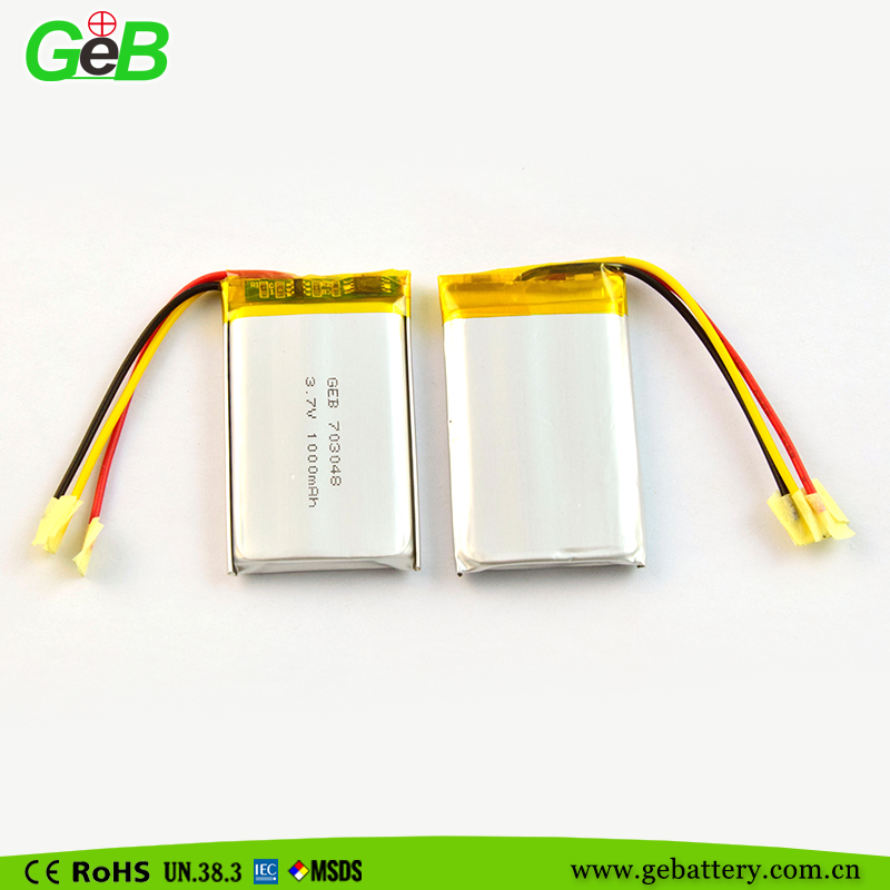 3.7V Nominal Voltage and Lipo Battery Cell,Li-polymer Type 3.7V Lipo Battery