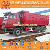 China famous SHACMAN AOLONG brand 6X4 excellent condition 310hp transit dump truck for sale in Africa.