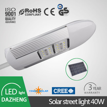 automation controll Intelligent solar led street light 40W outdoor
