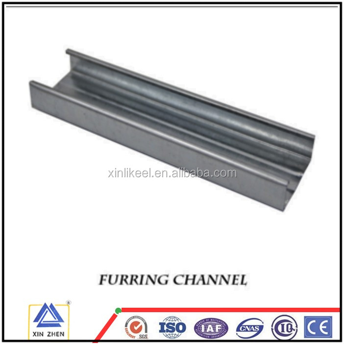 Light weight ceiling metal furring channel of philippines metal building materials