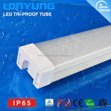 50/60W 1.5m/5ft LED Tri-proof tube lamp IP65 CE SAA ETL TUV Lonyung waterproof led light oem led lights & lighting hong kong led