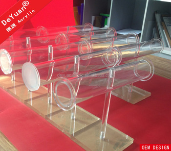 Acrylic bangle display jewelery stand holder