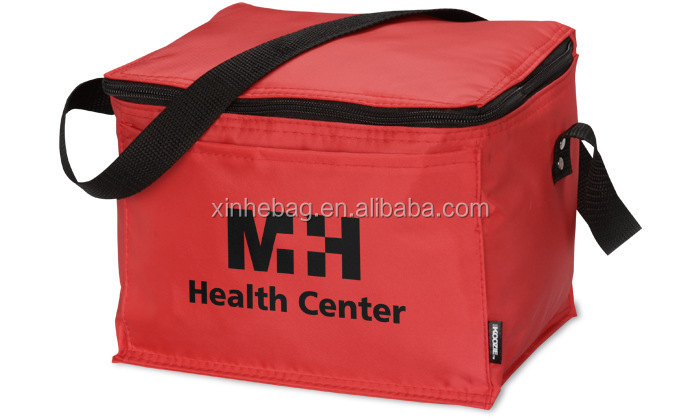 Large Insulated Food Delivery PP Woven Cooler Bag