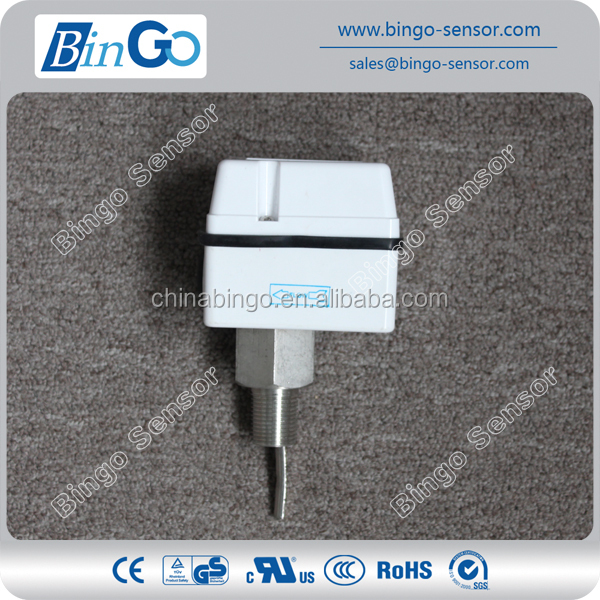 High protection brass paddle water flow switch sensor