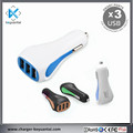 3USB Portable DC DC 5V 4.5A USB Electronic Cigarette Car Charger