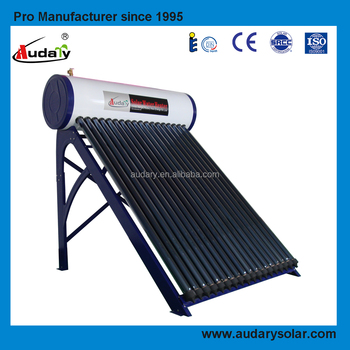 copper pipe solar hot water heater
