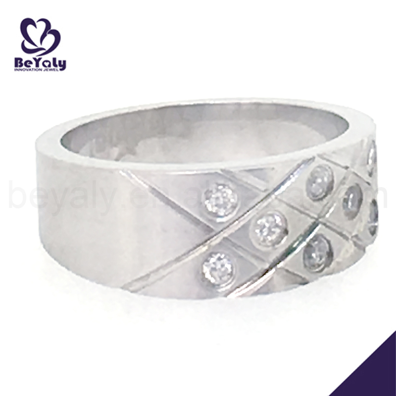 Shiny cz cheap 925 silver artificial jewellery