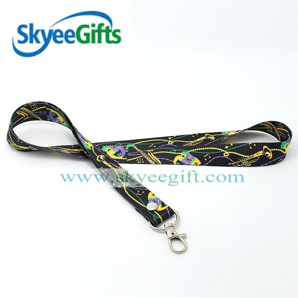 Excellent quality military camouflage custom design lanyard