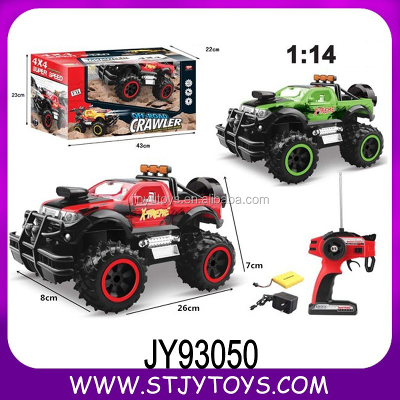 1:14 plastic new rc remote control SUV car toys for kids import china
