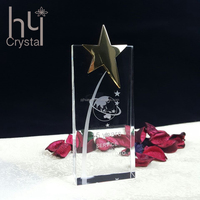 Crystal Award Trophy For Ceremony Game