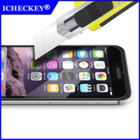 High Quality Premium Real custom printing Tempered Glass Screen Protector for iphone6 6s mobile accessories