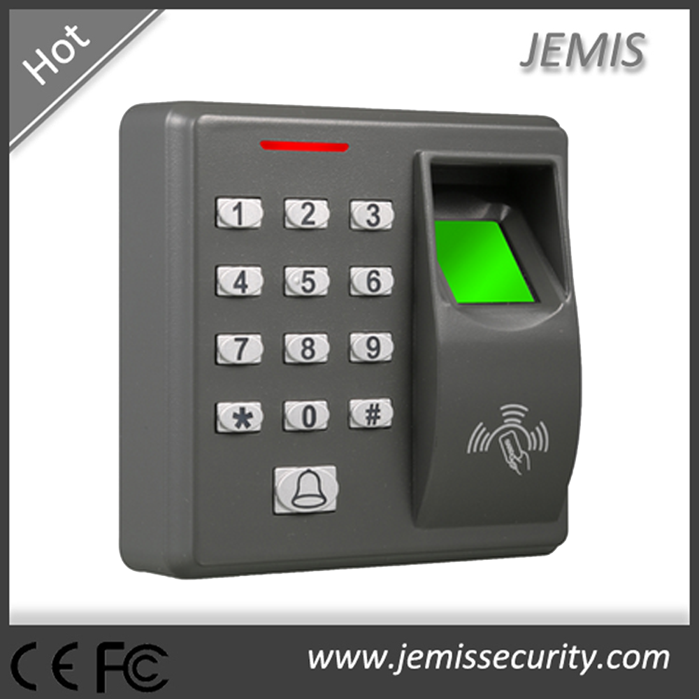 Finger/Card/PIN tamper proof biometric standalone fingerprint access control system no software