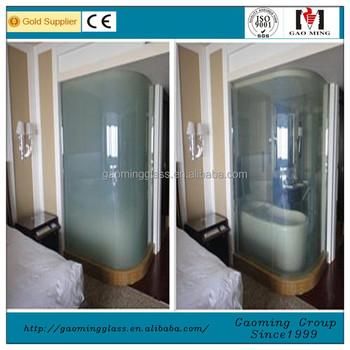 Pdlc Film Glasssmart Glass Shower Door View Smart Glass Shower