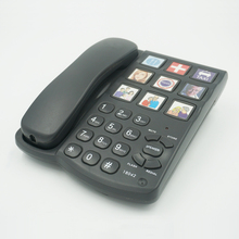 China supplier one touch picture speed dials big button telephone