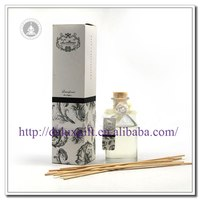 High quality Home Air fresheners Liquid reed diffuser with Glass bottle
