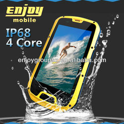 3G GPS cheap smart phone of water proof phones with 4.3inch Android 4.2 outdoor smartphone S09 with NFC, PTT Optional