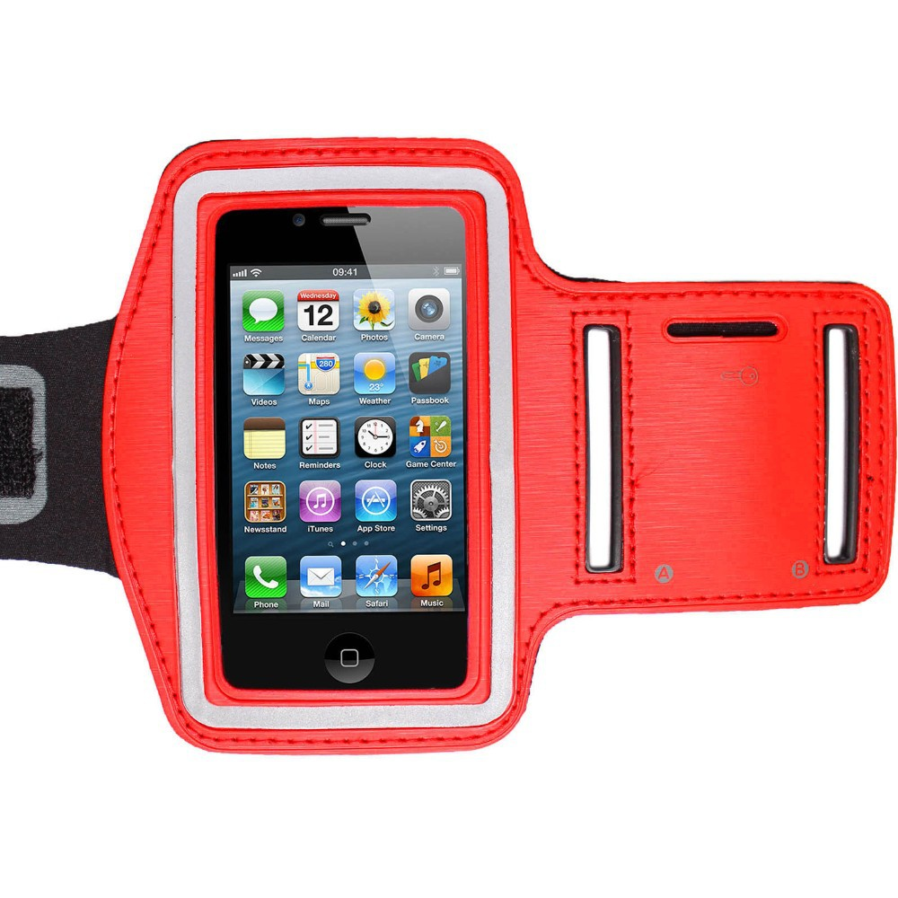Soft security outdoor sport armband for iphone6/5s/5 /4s/4,phone armband for gym