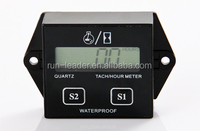 Supercross Motor RPM Meter Hour Counter for Motocross UTV Pit Bike Outboards