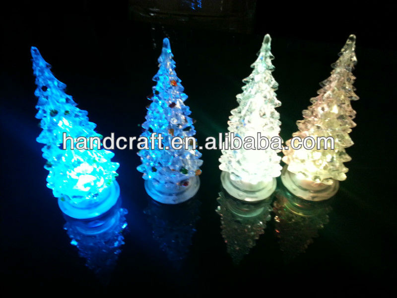 led outdoor solar christmas tree lights