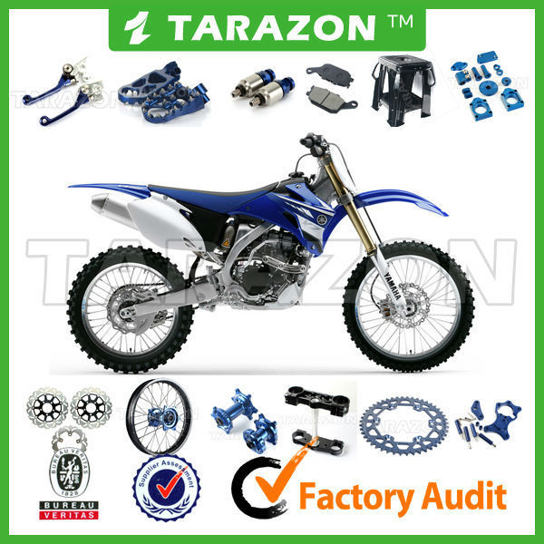 Factory wholesale off road motorcycle spare parts for yamaha