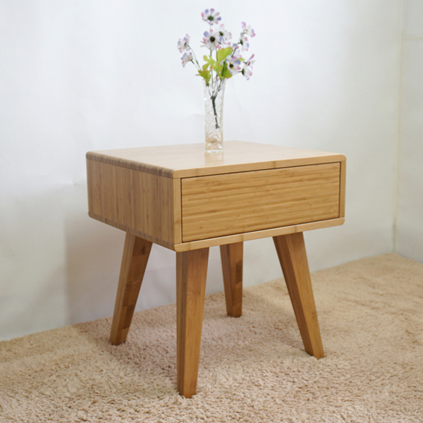 Unique design bamboo side table furniture end table