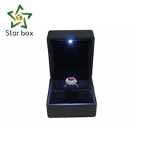 Luxury Handcraft LED Light Jewelry Ring