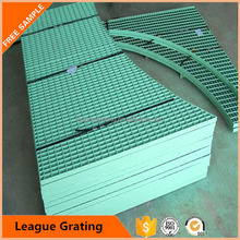 industrial floor steel aluminum tree grating with ISO SGS approved