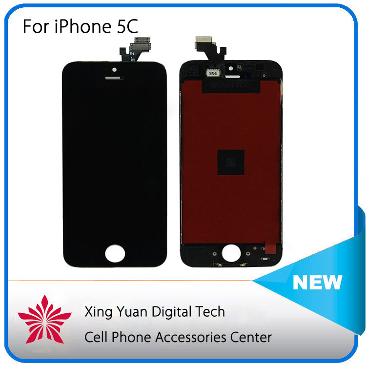 Replacement lcd screen lcd for iphone 5c,for iphone 5c lcd touch digitizer,for iphone 5c with small