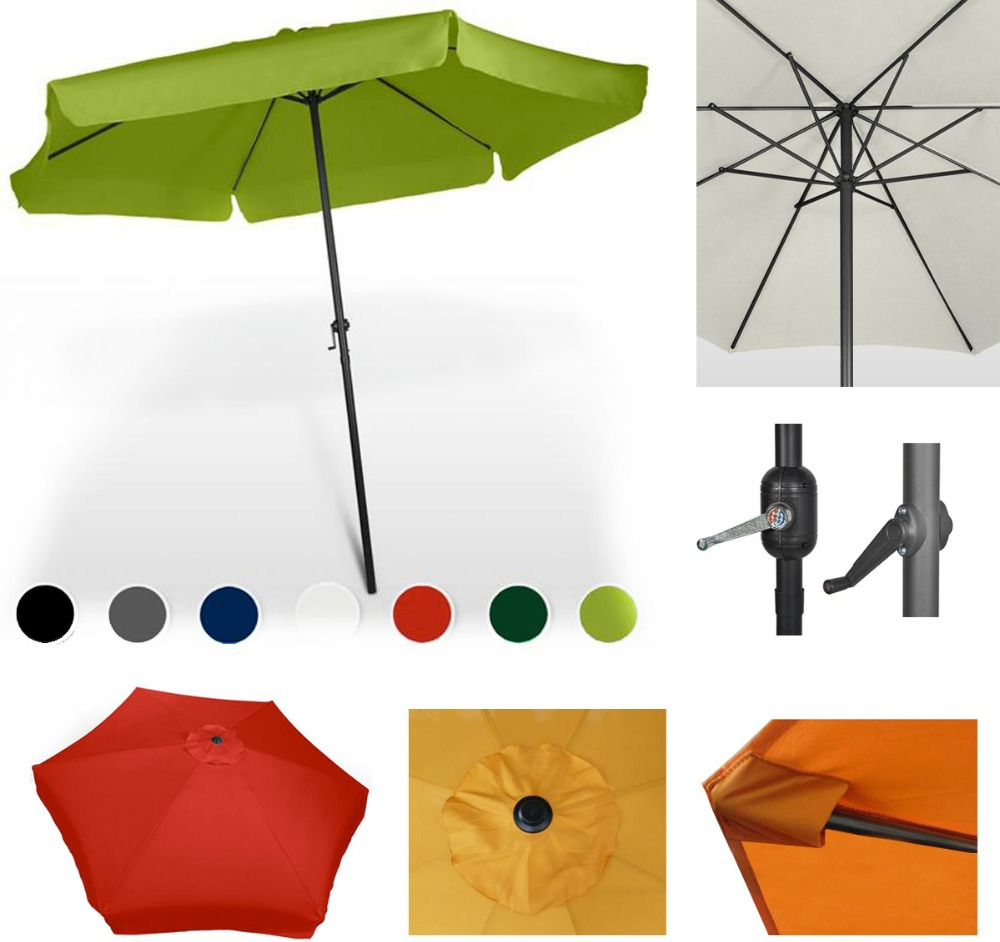 manufacuture 10feetoutdoor umbrella outside coffee umbrella 2.7m promotion umbrella wholesale garden parasol