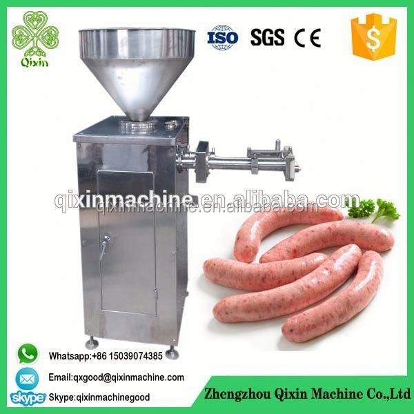 italian halal salami filler industrial machine make sausages