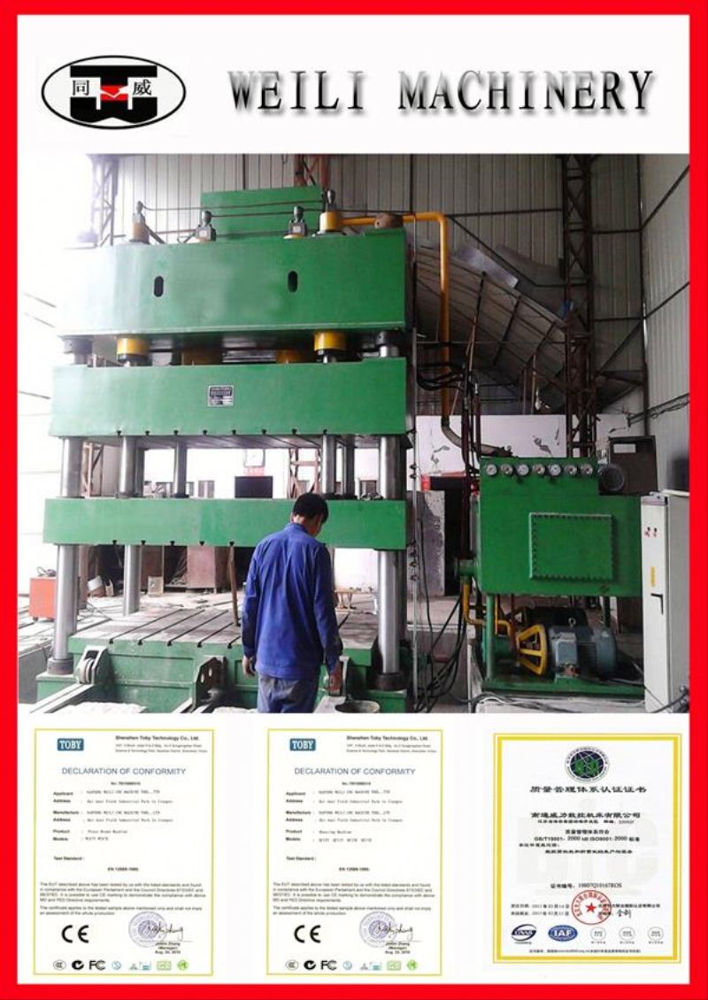 WEILI MACHINERY Factory Best Selling hydraulic press baler machine for waste paper