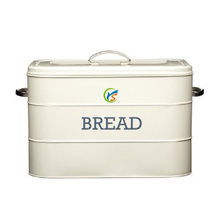 Flour galvanized rectangle bread bin