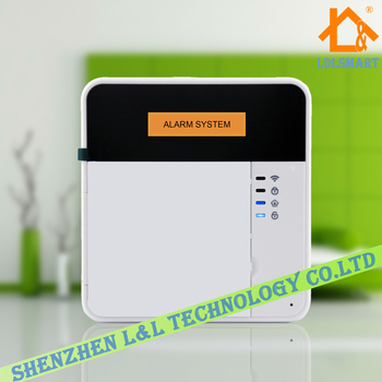 Wireless GSM GSM 3G GPRS Netowrk Home Burglar Alarm System SMS and Dialing Alarm