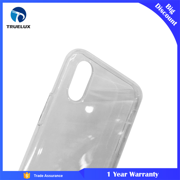 2017 Mobile Phone Accessories Anti - Falling Pattern vs Airbag Back Cover for iPhone X Case TPU Transparment Clear
