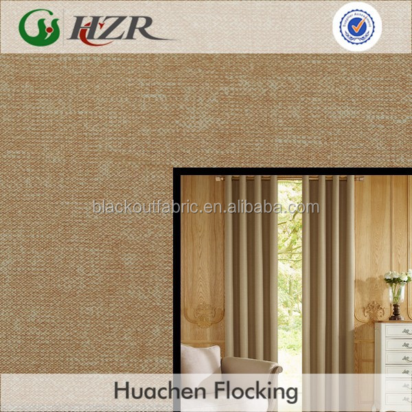 2015 Latest Design Printed Blackout Curtain Fabric