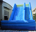 HOLA new blue inflatable slide for kids