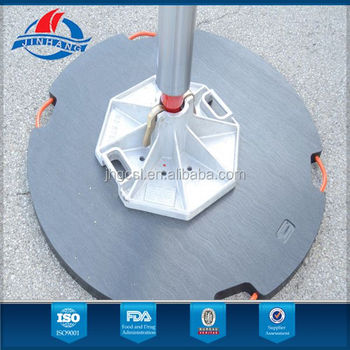Crane outrigger pads supplied for more than 1300 customer in 30+ countries--Jinhang Plastic