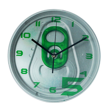 Professional Cnc System Elegant Indoor Wall Clock With Plastic Frame