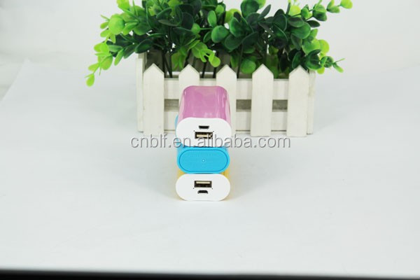 Wholesale supplier power bank use for iphone cheap bulk gifts smallest power bank battery charger 2300mah
