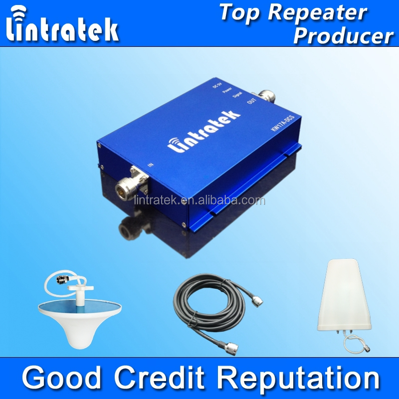 Lintratek Mobile Signal Booster 850 GSM Repeater 850mhz 65dbi Mini Size Amplificador Celular 850mhz Cell Phones Signal Amplifier
