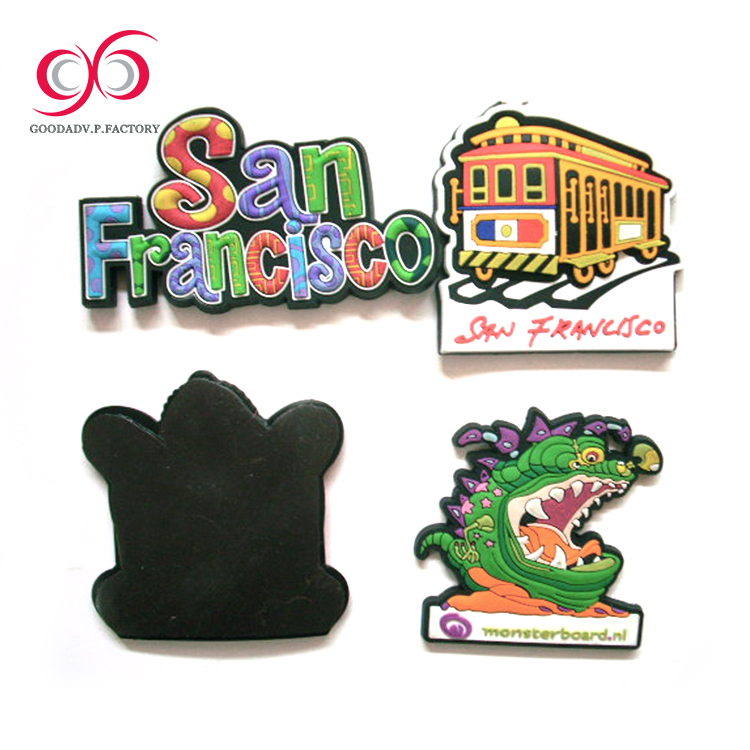 Top Quality cities souvenir fridge magnet for different countries