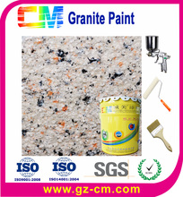 spraying multicolor granite paint for interior & exterior wall