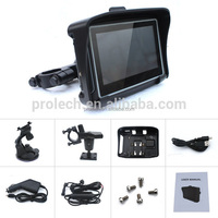 "Provide free map of navitel 4.3"" motorcycle gps navigation touch screen Waterproof gps navigator for motorcycle built-in antenna"