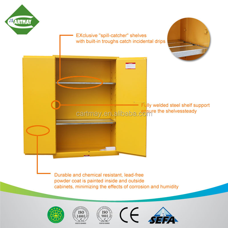 45 gollan flammable liquid fireproof biological chemical safety cabinet