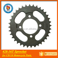 428-36T CD110 spare parts driving gear motorcycle