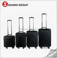 nylon soft light weight luggage luggage with built in clothes rack