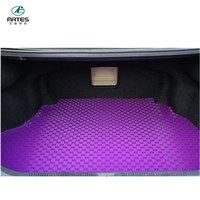 china natural eco-friendly pvc carpet trunk cargo car mat